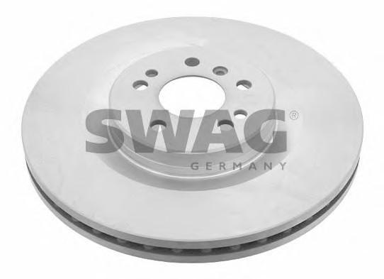 Диск тормозной передний вентилируемый для Mercedes Benz C292 GLE COUPE 2015> - Фото №1