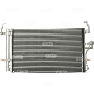 Радиатор кондиционера (конденсер) для Hyundai Coupe (GK) 2002-2009 - Фото №1