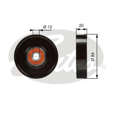 Ролик-натяжитель ручейкового ремня для Infiniti QX4 (JR50) 1996-2002 - Фото №1