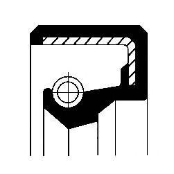 Сальник дифференциала для Citroen C25 1985-1990 - Фото №1