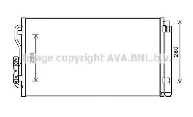 Радиатор кондиционера (конденсер) для BMW 2-серия F22/F23 2013> - Фото №1