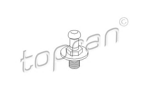 Ответная часть замка двери для VW Transporter T2 >1992 - Фото №1