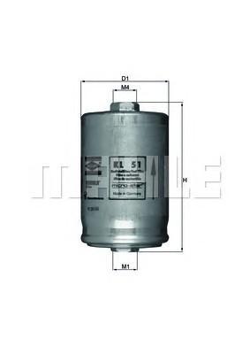 Фильтр топливный для Peugeot Boxer 230 1994-2002 - Фото №1