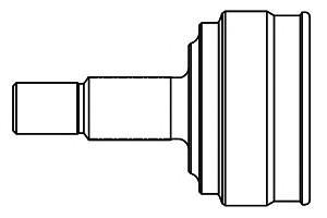 ШРУС наружный передний для Chevrolet Epica 2006-2012 - Фото №1