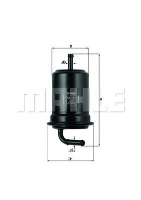 Фильтр топливный для Mazda MX-6 (GE6) 1991-1997 - Фото №1