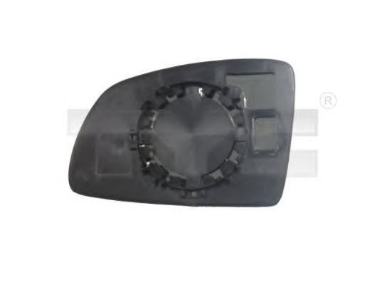 Стекло зеркала электрического левого для Opel Meriva 2003-2010 - Фото №1