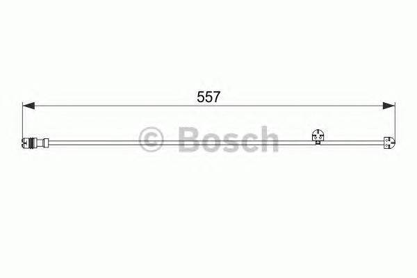 Датчик износа колодок для Porsche Macan 2013> - Фото №1